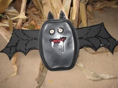 Kids Recycling Bat Craft Halloween