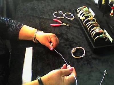 Lilac Wind Viking Knit Bracelet Part 2