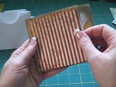 Mini Album Multi-pocket Envelope Page Tutorial