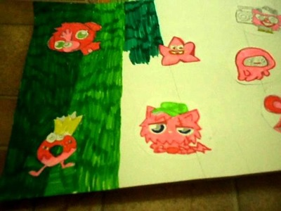Moshi Monsters DIY craft Project