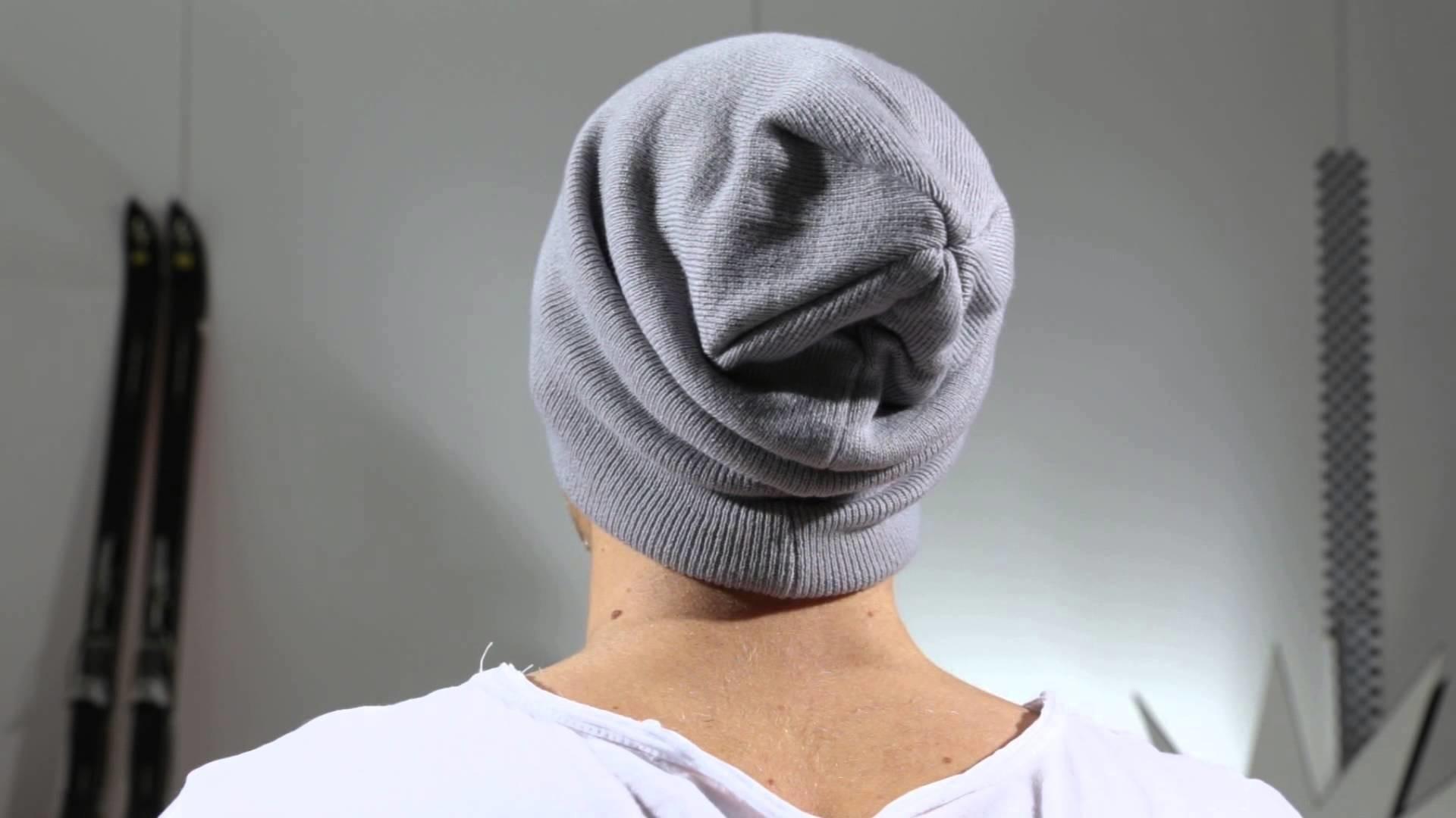 New Era Mützen - NE Original Basic Long Knit grey - Men