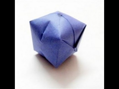 Origami Ball Tutorial - Water Bomb Easy Steps