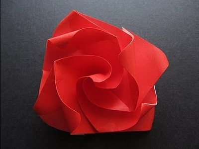 Origami Easy Twisty Rose