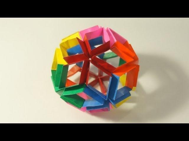 Origami Flexiball (Jorge Pardo)
