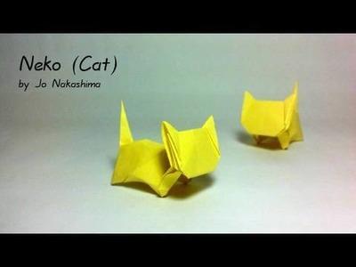 Origami Neko - Cat (Jo Nakashima)