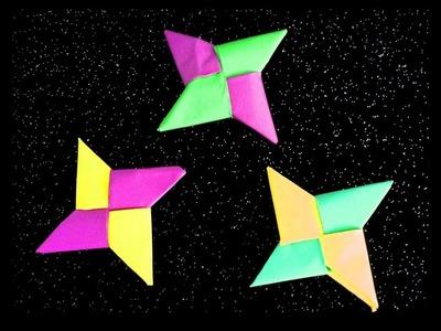 Origami ninja star: Two Tone PAPER STAR!