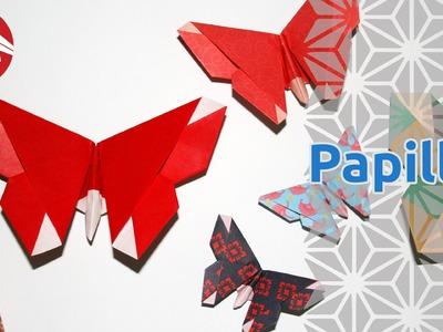Origami - Papillon - Butterfly (HD) [Senbazuru]