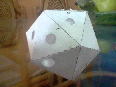 Papercraft de Ocarina (Instrumento musical)