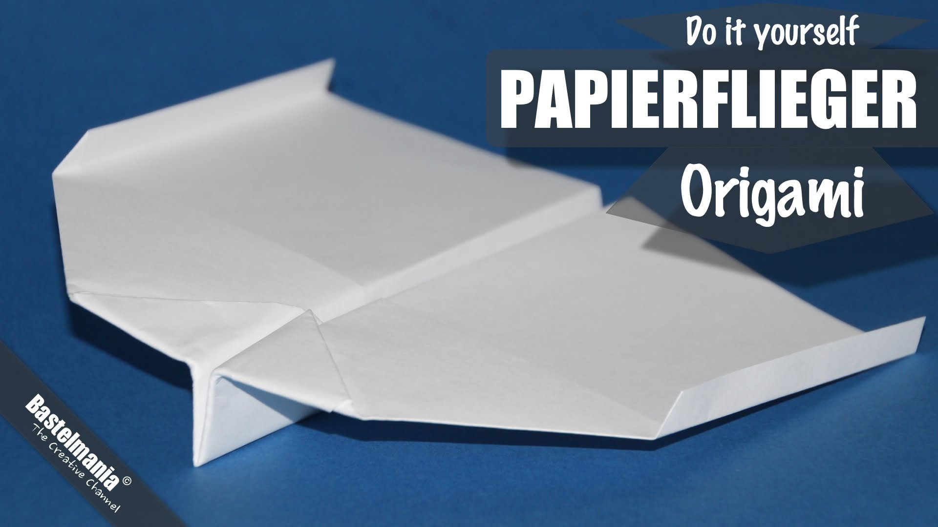 papierflieger falten papierflugzeug origami anleitung paper airplane. Black Bedroom Furniture Sets. Home Design Ideas