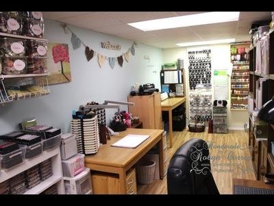 Part 1 - New Craft Room Tour - September 2013