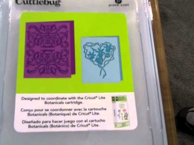 Provo Craft - NEW Cuttlebug Embossing Folders 2011