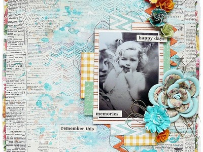 'Remember this' by Marta Lapkowska for My Creative Scrapbook