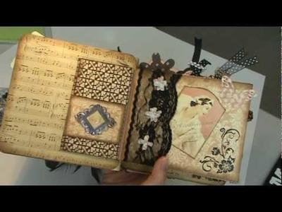 Scrapbook Mini Album: Graphic 45 Le Romantique