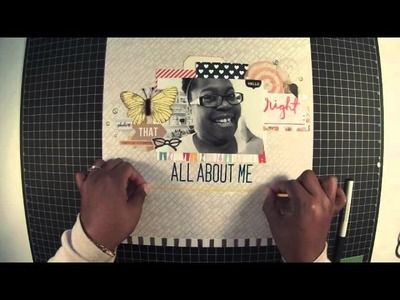Scrapbook Process Video #27 - All About Me