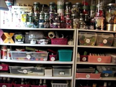 Scrapbook Room is a mess - it's time to clean
