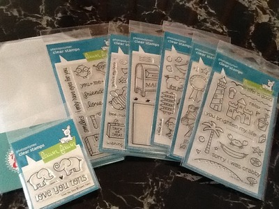 Scrapbooking & Card Making Stamp Haul from Scrapbookpal