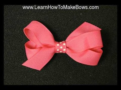 Simple Hair Bows are Beautiful Crafts to Make For Your Daughter