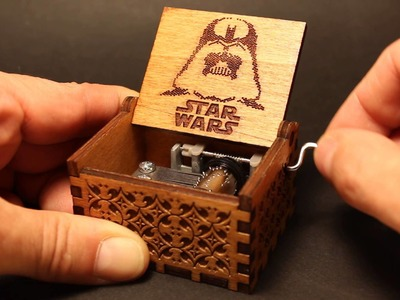 Star Wars - Main Theme Music Box (Invenio Crafts)