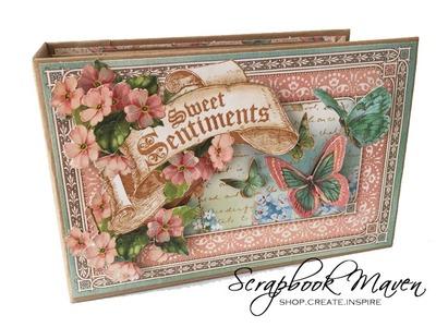 Sweet Sentiments Spring Mini Album and Tutorial Kit