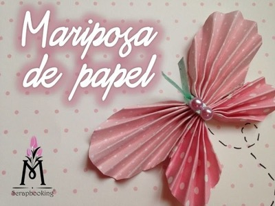TUTORIAL Cómo Hacer Una mariposa de Papel.How to Make  Paper Buterfly