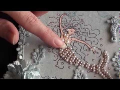 Wild Orchid Crafts - Mermaid and seashells