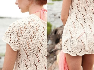 #14 Lace Tunic, Vogue Knitting Spring.Summer 2011