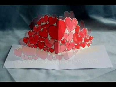Allhearts Pop Up Card for Valentines