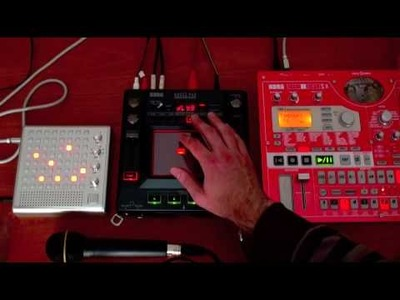 BLIPTRONIC MIDI SYNCH TO ELECTRIBE!? - it's DIY CV synch!