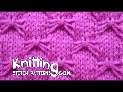Butterfly Bowknot stitch