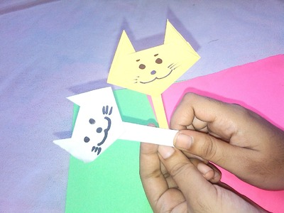 Cat Face - Origami Paper Crafts for Kids
