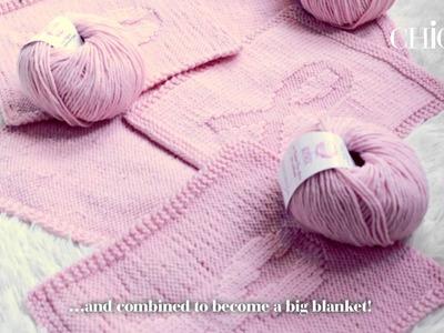Charity Knitting in Wertheim- das Resümee mit Eva Padberg