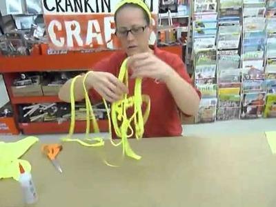 Crankin' Out Crafts -ep261 T-shirt Headband