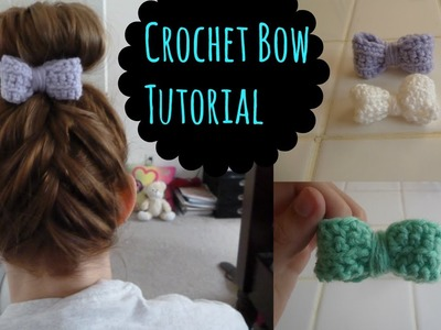Crochet Bow Tutorial (Beginner)