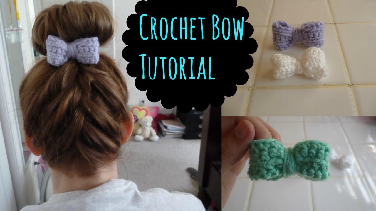 Crochet Bow Tutorial (Beginner)