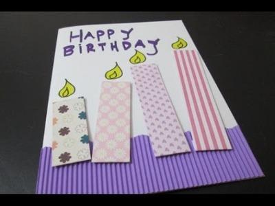 DIY : #23 Birthday Card ♥