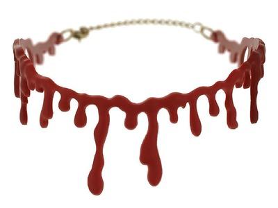 DIY: Blood Choker & Кровавый Чокер | DanaTinker