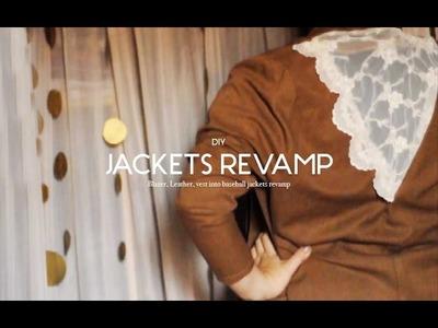 DIY DAYS : jackets 3 way REVAMP !!!