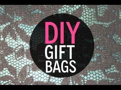 DIY Drawstring Gift Bag