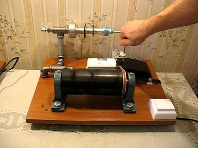 DIY: Electric Cone Wool Winder. Wool Spinner. Yarn Winder. Wollwickler