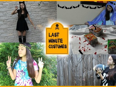 DIY Fast & Easy: Last Minute Halloween Costumes!