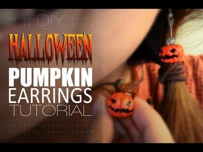 DIY: Homemade Halloween Earrings Tutorial.
