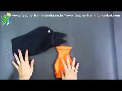DIY - How to make a Glove Puppet