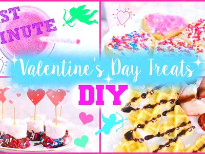 DIY Last Minute Valentine's Day Treats | #DIYITGIRL