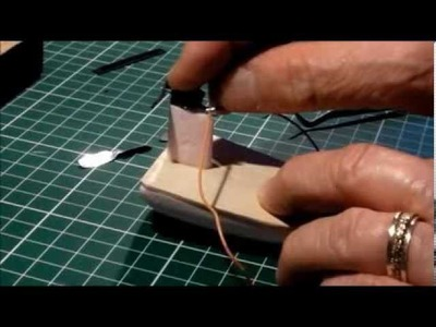 DIY.-MICRO AIR BOAT. Construction Tutorial.- Toy From Trash