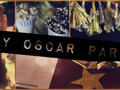 DIY Oscar Party⎢DIY Decor, Food, & more.