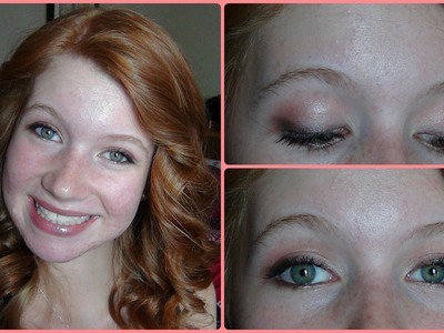 Falling Out of Summer Makeup Tutorial! Summer.Fall Makeup ♥
