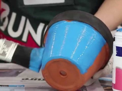 Fathers Day Gift Ideas - Bunnings DIY Pen Pot