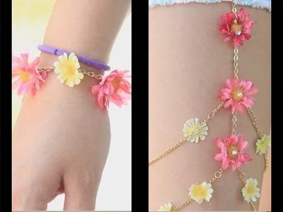 Flower Accessories ♥ DIY
