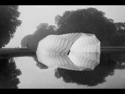 Folding Pavilion - Big Origami