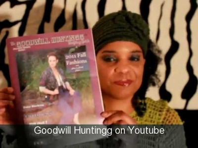Goodwill Huntingg Thrift Guide & My Bohemian Rhapsody (Crochet Clothing)